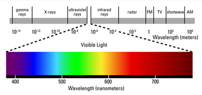 Laser Light In The Visible To Near Infrared Spectrum (i.e., 400   1400 Nm)  Can Cause Damage To The Retina Resulting In Scotoma (blind Spot In The  Fovea).